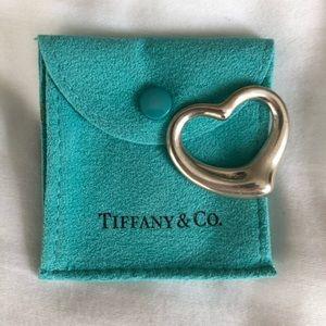 Tiffany & Co Elsa Peretti Large Open Heart Pendant